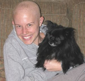 In the midst of chemotherapy, May 2008
