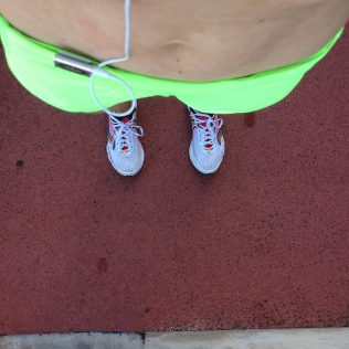 New neon gear to provide an extra boost while getting uncomfortable at the track