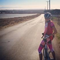 Outside of Monterey, enjoying the company